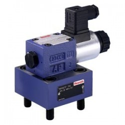 Bosch Rexroth 2-way cartridge valve for directional functions (Control cover) Type LFA