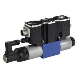 4/3 proportional directional valve with integrated digital electronics and field bus interface (IFB-P) 4WREF