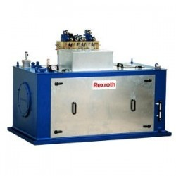 Hydraulic drive low-noise compact power units Type ABFAG