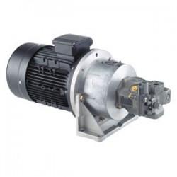 Motor / pump assemblies Types ABHPG-A10VSO...VP