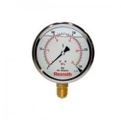 Pressure gauge with fluid filling Type ABZMM
