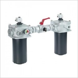 Tank mounted duplex return line filters, switchable - 10 FRD