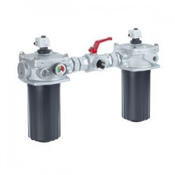 Tank mounted return line filters, switchable, with filter element according to DIN 24550 Type 10 TD(N)