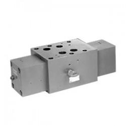 Discharge isolator pressure compensator sandwich plate design SCA 32, SCB 32