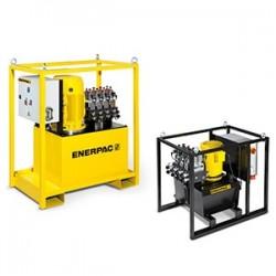 Enerpac SFP-Series 700 bar split flow hydraulic pumps