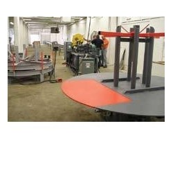 Enerpac Strand anchor fabrication lines and assembly table
