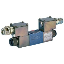 Direct Operated Directional Control Valves with Solenoid Actuation Size 6 / Cetop 3 For Potentially Explosive Areas