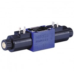 Bosch Rexroth directional spool valves with wet-pin DC voltage solenoids WE 6...H