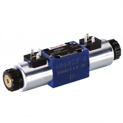 Bosch Rexroth directional spool valves with wet-pin DC voltage solenoids WE 6...73...A12