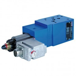 Pilot operated Proportional pressure reducing valves without/with integrated electronics (OBE) ZDRE(E) 10 -2X