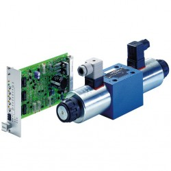 4 / 2 and 4 / 3 direct operated without electrical position feedback, without/with integrated electronics (OBE) 4WRA(E)