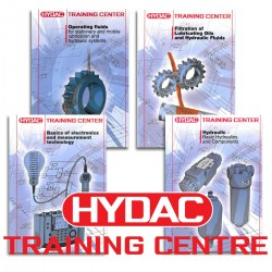HYDAC- Hydraulic, Electronics, Filtration and Operating Fluids Training Centre Manual 4 Pack