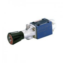 Bosch Rexroth Directional Spool Valves with Rotary Knob Actuation WMD 6