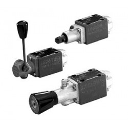 Bosch Rexroth Directional Spool Valves with Rotary Knob Actuation WMDA 6