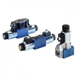 Bosch Rexroth Directional seat and spool valves with electrical actuation and M12x1 plug-in connection