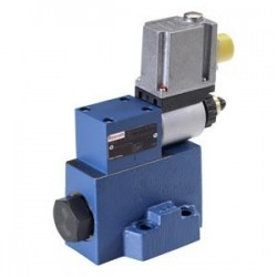 Pilot operated  proportional pressure reducing valves without/with max. pressure limitation (OBE) DRE(M) 20, DRE(M)E 20