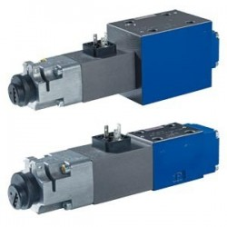 Proportional flow control valves with inductive position transducer, 3-way version 3FREZ