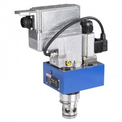 Proportional Cartridge Throttle Valves with Inductive Position Transducer Pilot Operated Types FESX & FESXE