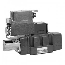 4 / 3 Pilot Operated Directional Control Valves with Electrical Position Feedback (Lvdt DC/DC) 4WRL 10...25