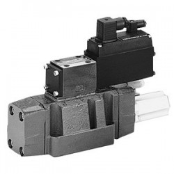 4/3 Pilot operated directional control valves with electrical position feedback (Lvdt DC/DC ±10V) 4WRL.E(W)