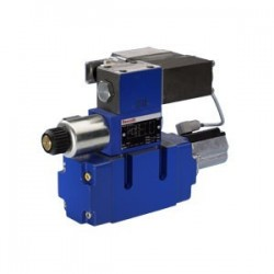 4 / 3 Pilot operated directional control valves with electrical position feedback and integrated electronics (OBE) 4WRVE