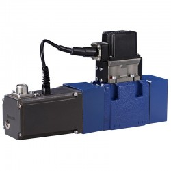 4/3 pilot operated directional control valves with electrical position feedback and integrated electronics (OBE) 4WRGE
