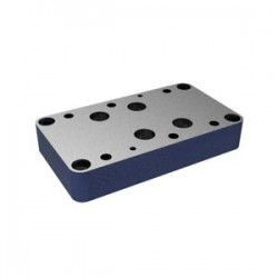 Subplates size 25 with porting pattern to DIN 24340 form A and ISO 4401 Types G 151/01 & G 153/01
