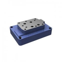 Subplates size 25 with porting pattern to DIN 24340 form A and ISO 4401 Types G 154/01 & G 156/01