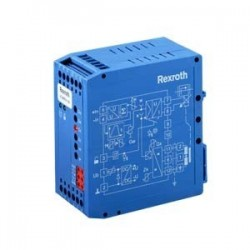 Valve amplifier with electrical position feedback for proportional valves, Analog, Modular design VT-MRPA1-1...-1X