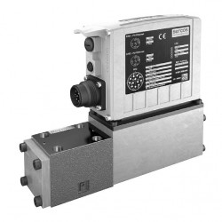 High-response valve with integrated digital axis controller (IAC-Multi-Ethernet) 4WRPDH