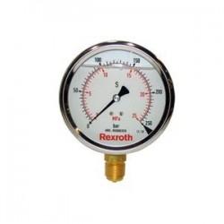 Pressure gauge with fluid filling Type ABZMM