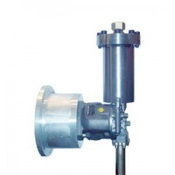 Shock and vibration absorber for the pump types A10VSO size 18 to 140 and A4VSO size 40 to 250 Type Pulsation damper