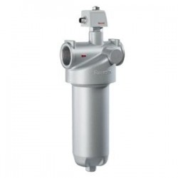 Inline filter with filter element according to DIN 24550 Type 110 LE(N)