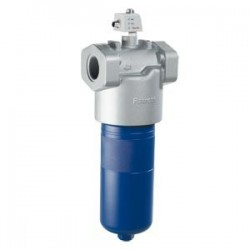 Inline filter with filter element according to DIN 24550 Type 350 LE(N)