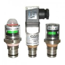 Hydac PVD differential pressure indicators from stainless steel
