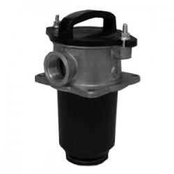 Hydac SFAR Suction filter with bottom valve and magnetic core