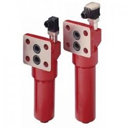 Hydac DF...MA, DF...QE, DF...MHA, DF...MHE Manifold Mounted Pressure Filter