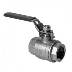 Hydac Stainless Steel 2-Way Low Pressure Ball Valves Type KHNVN & KHNVS