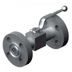Hydac ANSI Flange 2-Way Ball Valves KHBF and KHMF