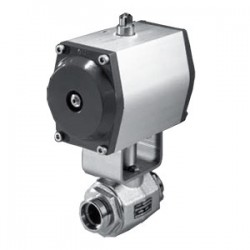 Hydac Ball Valves with Pneumatic Actuator