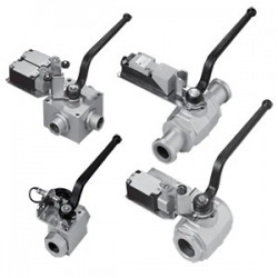 Hydac Ball Valves with Electrical Limit Controls