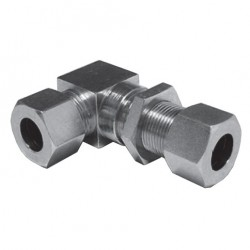 Hydraulic Elbow Bulkhead Couplings Type WSV