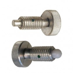 Carr Lane Knurled Head Hand Retractable Plungers