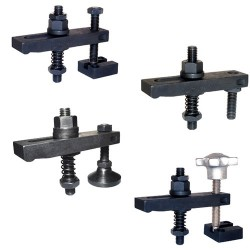 Carr Lane Tapped-Heel Clamp Strap Assemblies