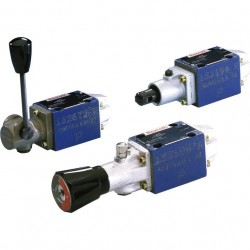Bosch Rexroth Directional Spool Valves, Direct Operated, with Mechanical or Manual Actuation Type WMM 6