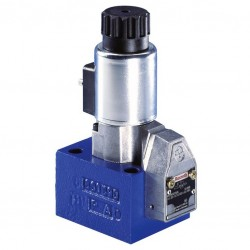 Bosch Rexroth Directional Poppet Valve, Directly Operated, with Solenoid Actuation Type M-.SEW 6