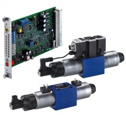 Bosch Rexroth 4/2 and 4/3 Proportional Directional Valves, Direct Operated (OBE) 4WRE(E)