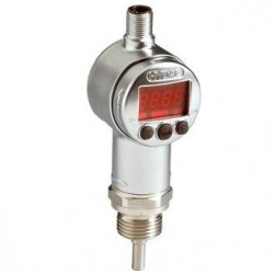 Hydac Electronic Temperature Switch ETS 3200 Pressure Resistant for Inline Mounting