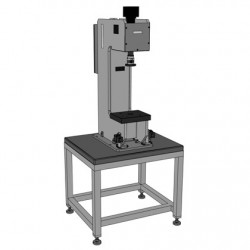 Roemheld Press-in Device C-Frame Design Compact Table Top Version