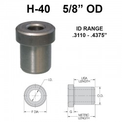 Carr Lane Head Press Fit Bushings 5/8 OD